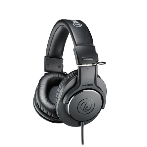 Audio-Technica-ATH-M20x-Professional-Monitor-Headphones-0
