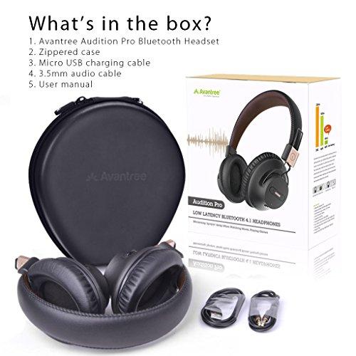 429efd4477d Avantree 40 hr APTX LOW LATENCY Wireless Headphones for TV Watching ...