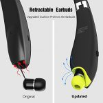 Bluetooth-Headphones-Sywan-Upgrade-Wireless-Neckband-bluetooth-41-headset-with-Retractable-Earbuds-Foldable-DesignSports-Stereo-In-ear-Earbuds-for-iPhone-and-Android-0-1