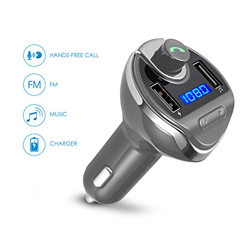 Bluetooth Car Fm Transmitter With   Dual Usb Car Charger
