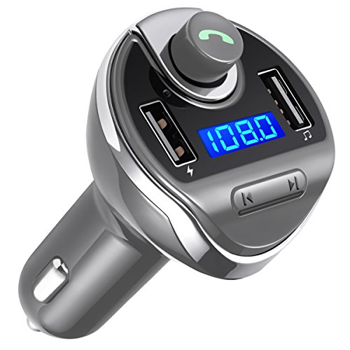criacr bluetooth fm transmitter wireless in car fm. Black Bedroom Furniture Sets. Home Design Ideas