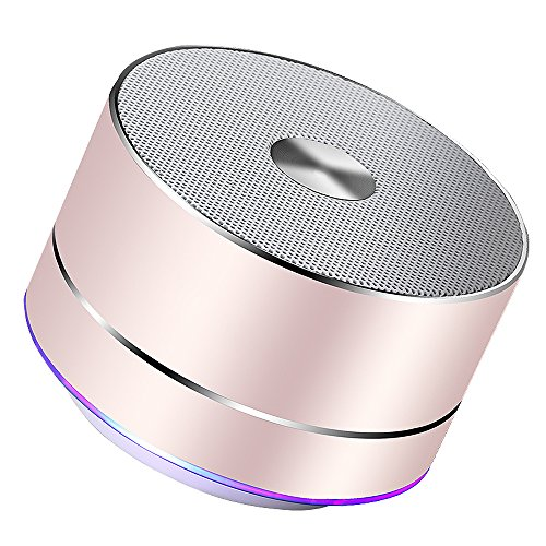 LENRUE-Portable-Wireless-Bluetooth-Speaker-with-Built-in-MicHandsfree-CallAUX-LineTF-CardHD-Sound-and-Bass-for-Iphone-Ipad-Android-Smartphone-and-MoreRose-Gold-0