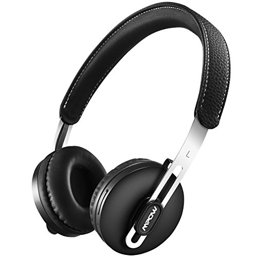 mpow bluetooth headphones wireless wired convertible lightweight on ear headphones stereo. Black Bedroom Furniture Sets. Home Design Ideas