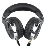 OneOdio-Adapter-free-Closed-Back-Over-Ear-DJ-Stereo-Monitor-Headphones-Professional-Studio-Monitor-Mixing-Telescopic-Arms-with-Scale-Newest-50mm-Neodymium-Drivers-Glossy-Finsh-0-1