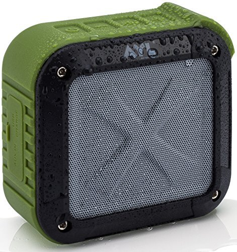 Portable-Outdoor-and-Shower-Bluetooth-41-Speaker-by-AYL-SoundFit-Water-Resistant-Wireless-with-10-Hour-Rechargeable-Battery-Life-Powerful-5W-Audio-Driver-Pairs-with-All-Bluetooth-Devices-0