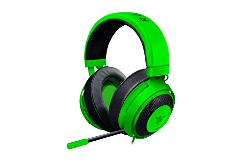 razer kraken pro v2 oval ear cushions analog gaming headset for pc xbox one and playstation. Black Bedroom Furniture Sets. Home Design Ideas