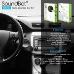 SoundBot-SB360-Bluetooth-40-Car-Kit-Hands-Free-Wireless-Talking-Music-Streaming-Dongle-w-10W-Dual-Port-21A-USB-Charger-Magnetic-Mounts-Built-in-35mm-Aux-Cable-0-2