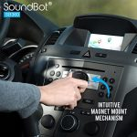 SoundBot-SB360-Bluetooth-40-Car-Kit-Hands-Free-Wireless-Talking-Music-Streaming-Dongle-w-10W-Dual-Port-21A-USB-Charger-Magnetic-Mounts-Built-in-35mm-Aux-Cable-0-3