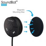 SoundBot-SB360-Bluetooth-40-Car-Kit-Hands-Free-Wireless-Talking-Music-Streaming-Dongle-w-10W-Dual-Port-21A-USB-Charger-Magnetic-Mounts-Built-in-35mm-Aux-Cable-0-4