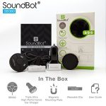 SoundBot-SB360-Bluetooth-40-Car-Kit-Hands-Free-Wireless-Talking-Music-Streaming-Dongle-w-10W-Dual-Port-21A-USB-Charger-Magnetic-Mounts-Built-in-35mm-Aux-Cable-0-6