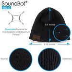Soundbot-SB210-HD-Stereo-Bluetooth-41-Wireless-Smart-Beanie-Headset-Musical-Knit-Headphone-Speaker-Hat-Speakerphone-Capbuilt-in-Mic-BLK-0-4