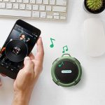 VicTsing-Shower-Speaker-Wireless-Waterproof-Speaker-with-5W-Driver-Suction-Cup-Built-in-Mic-Hands-Free-Speakerphone-Army-Green-0-1