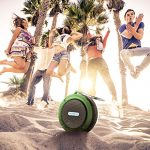VicTsing-Shower-Speaker-Wireless-Waterproof-Speaker-with-5W-Driver-Suction-Cup-Built-in-Mic-Hands-Free-Speakerphone-Army-Green-0-5