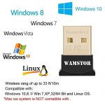 Warmstor-Bluetooth-Adapter-CSR-40-USB-Dongle-Bluetooth-Receiver-Transfer-Gold-Plated-for-Laptop-PC-Computer-Support-Windows-10-8-7-Vista-XP-3264-Bit-0-3