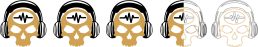 Ratings - 3-5 Skulls - SpeakersBluetooth - Gold