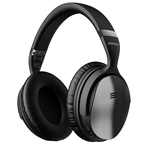 Mpow-H5-2018-Upgrade-Active-Noise-Cancelling-Headphones-ANC-Over-Ear-Wireless-Bluetooth-Headphones-wMic-Electroplating-Stylish-Look-Comfortable-Protein-Earpads-Travel-Work-Computer-Home-0