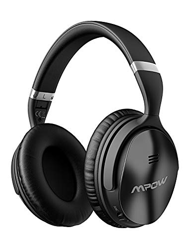 Mpow-H5-Active-Noise-Cancelling-Headphones-ANC-Over-Ear-Wireless-Bluetooth-Headphones-wMic-Dual-40-mm-Drivers-Superior-Deep-Bass-for-PCCell-Phone-25-30Hrs-Playtime-CVC60-Noise-Cancelling-Mic-0