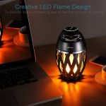 DIKAOU-Led-flame-table-lamp-Torch-atmosphere-Bluetooth-speakersOutdoor-Portable-Stereo-Speaker-with-HD-Audio-and-Enhanced-BassLED-flickers-warm-yellow-lights-BT42-for-iPhoneiPad-Android-0-4