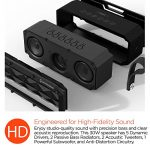 HyperGear-Beast-XL-Rugged-Portable-IPX6-Waterproof-Water-Resistant-Dustproof-Outdoor-Indoor-Wireless-Bluetooth-Speakers-with-Built-in-Microphone-Best-Loud-30W-Bass-Stereo-Sound-for-iPhone-Computer-0-2