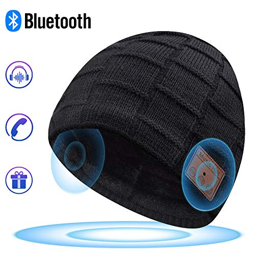 Bluetooth-Beanie-Bluetooth-Hat-Mens-Gifts-Women-Mens-Beanie-Hats-with-Bluetooth-Headphones-Fits-for-Outdoor-Sports-Skiing-Running-Skating-Walking-Christmas-Birthday-Gifts-for-Men-Women-0