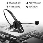 Bluetooth-Headset-V50-Pro-Wireless-Headset-High-Voice-Clarity-with-Noise-Canceling-Mic-for-Cell-Phone-Trucker-Engineers-Business-Home-Office-JBT800-0-0