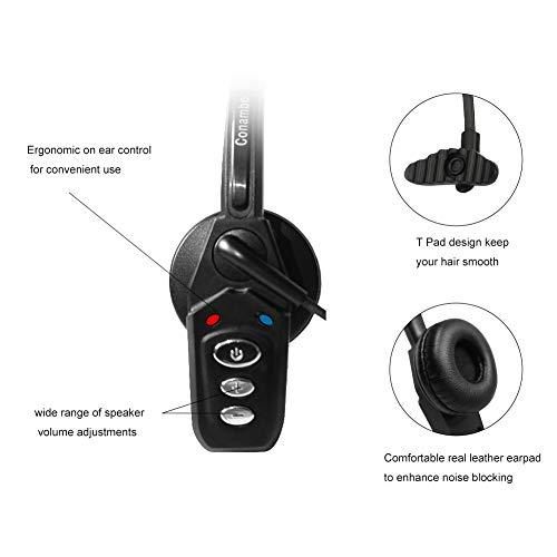 Bluetooth Headset V5.0, Pro Wireless Headset High Voice
