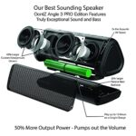 OontZ-Angle-3-Pro-Waterproof-Bluetooth-Speaker-21-Watts-Louder-Volume-Exceptional-Sound-Bass-100ft-Wireless-Range-Play-Two-Together-for-Dual-Stereo-Bluetooth-Speakers-Black-0-0