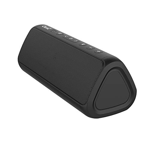 OontZ-Angle-3-Pro-Waterproof-Bluetooth-Speaker-21-Watts-Louder-Volume-Exceptional-Sound-Bass-100ft-Wireless-Range-Play-Two-Together-for-Dual-Stereo-Bluetooth-Speakers-Black-0