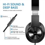 bopmen-T3-Wired-Over-Ear-Headphones-Stereo-Sound-Headphones-with-Tangle-Free-Cord-Bass-Comfortable-Headphones-Lightweight-Portable-for-Smartphone-Tablet-Computer-PC-Laptop-Notebook-0-0