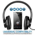 bopmen-T3-Wired-Over-Ear-Headphones-Stereo-Sound-Headphones-with-Tangle-Free-Cord-Bass-Comfortable-Headphones-Lightweight-Portable-for-Smartphone-Tablet-Computer-PC-Laptop-Notebook-0-4