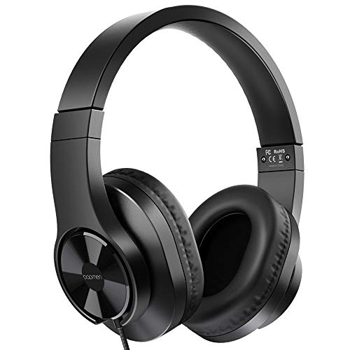 bopmen-T3-Wired-Over-Ear-Headphones-Stereo-Sound-Headphones-with-Tangle-Free-Cord-Bass-Comfortable-Headphones-Lightweight-Portable-for-Smartphone-Tablet-Computer-PC-Laptop-Notebook-0